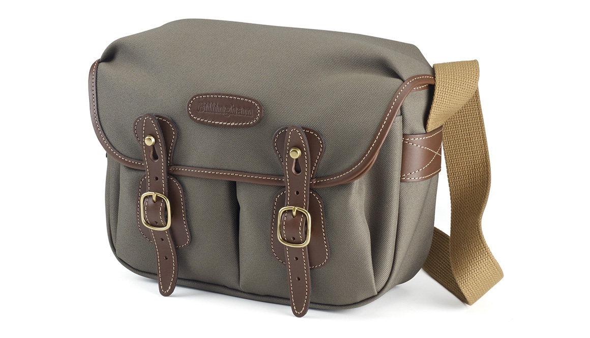 Billingham Hadley small pro - sage fibrenyte/chocolate