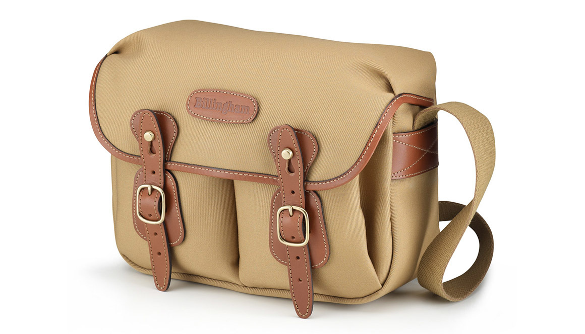 Billingham Hadley small pro - khaki canvas/tan