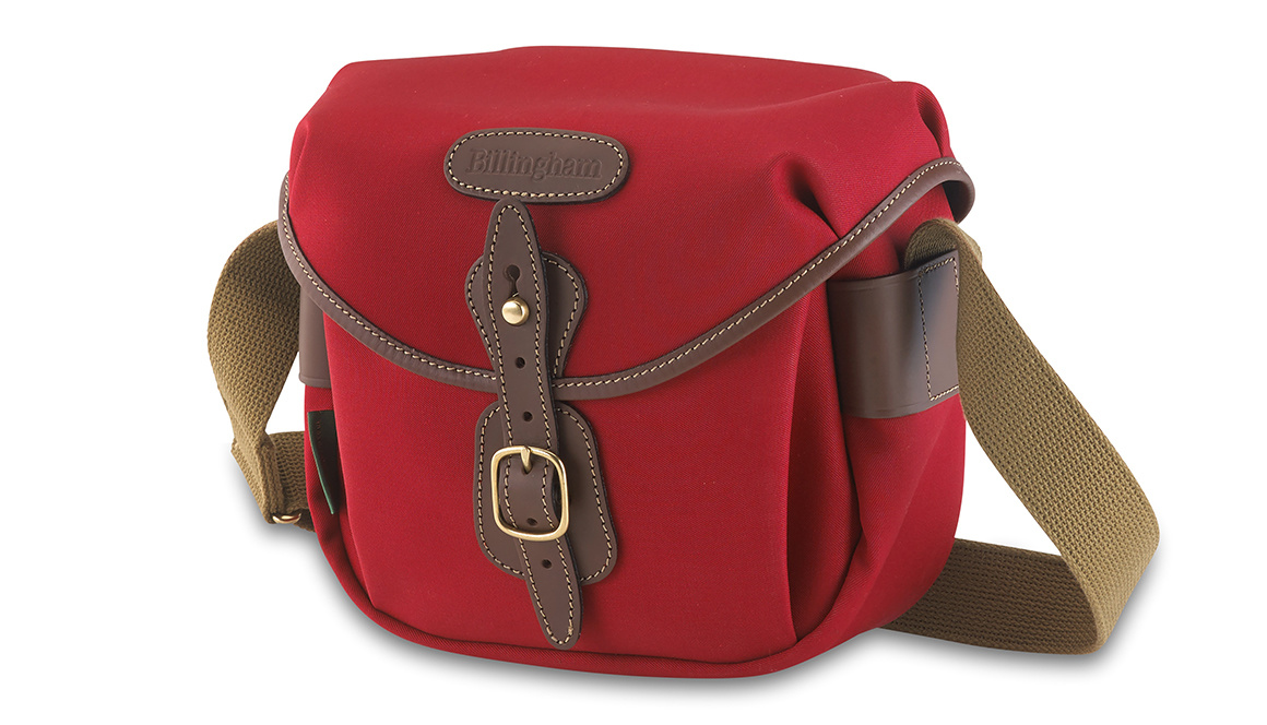 Billingham Hadley digital, burgundy/chocolate