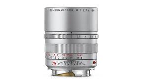 Leica Leica APO-SUMMICRON-M 75 f/2 ASPH. silver anodized finish