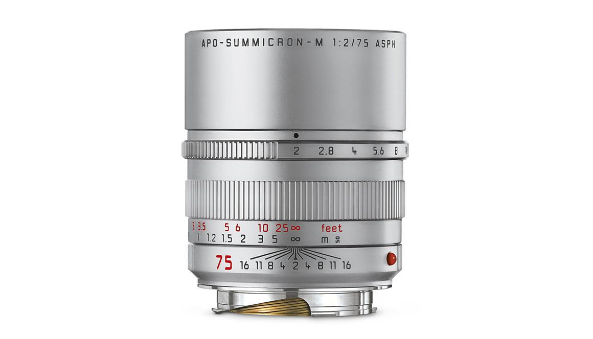 Leica APO-SUMMICRON-M 75 f/2 ASPH. silver anodized finish