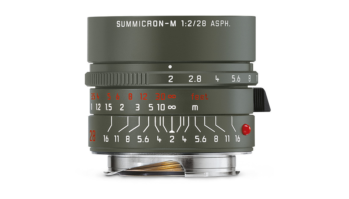 Leica SUMMICRON-M 28mm f/2 ASPH. Edition 'Safari'