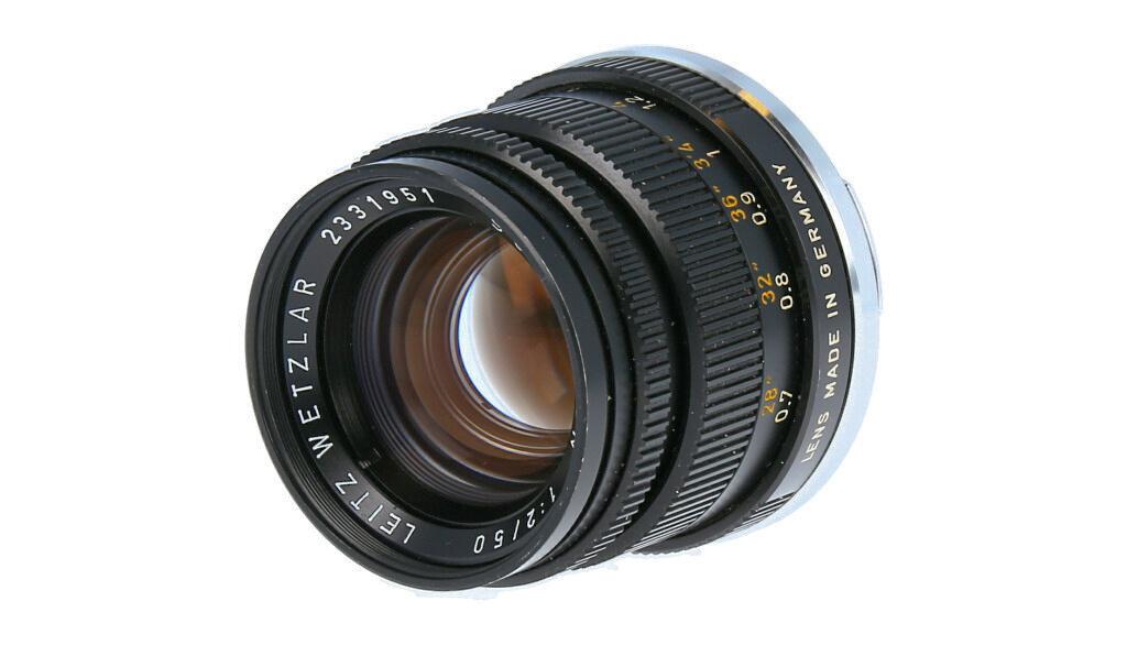 Leica Summicron-M 50mm F2, Used