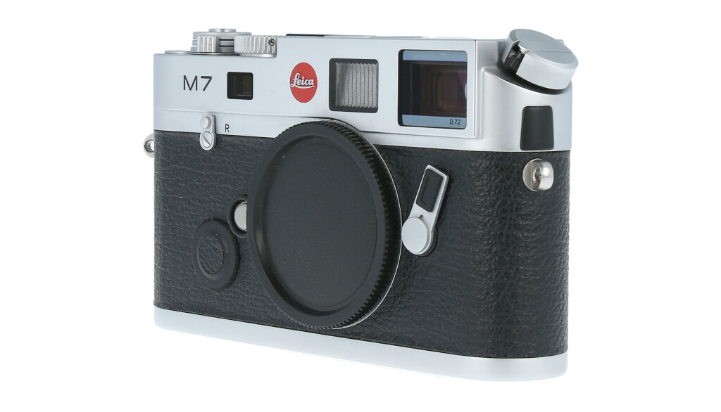 Leica M7 0.72, silver chrome finish, Used