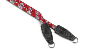 COOPH Rope strap designed by Cooph, red check, 126cm