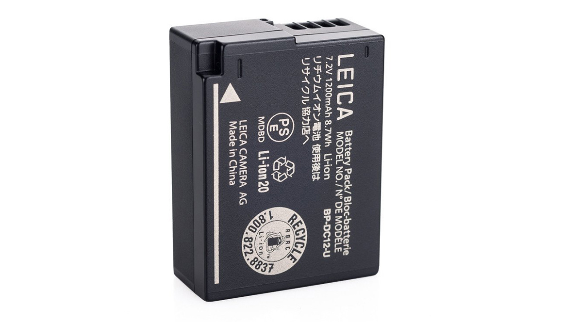Leica BP-DC12 Li-Ion Battery for Q , CL, V-LUX