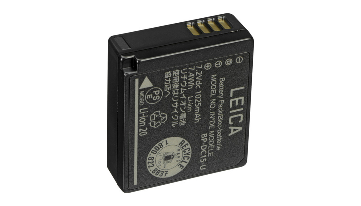 Leica Lithium-Ion-Battery BP-DC15-E, D-LUX/C-LUX