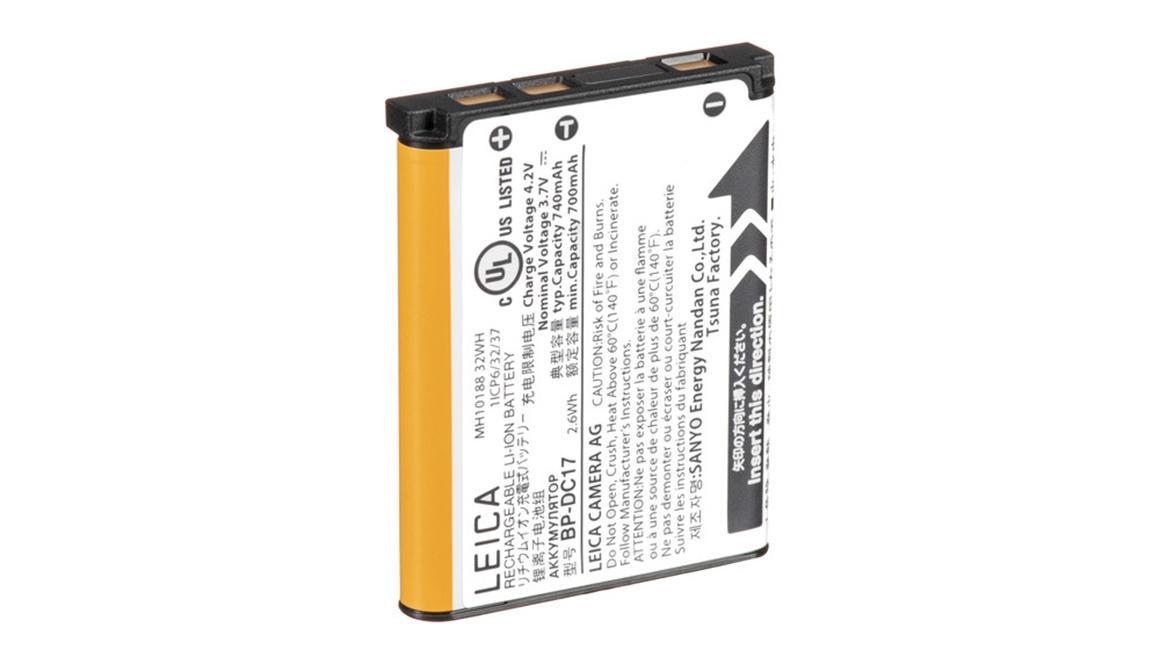 Leica SOFORT battery BP-DC17