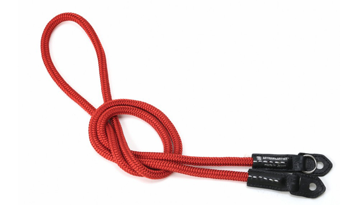 ARTISAN&ARTIST - ACAM 306N silk camera strap - red