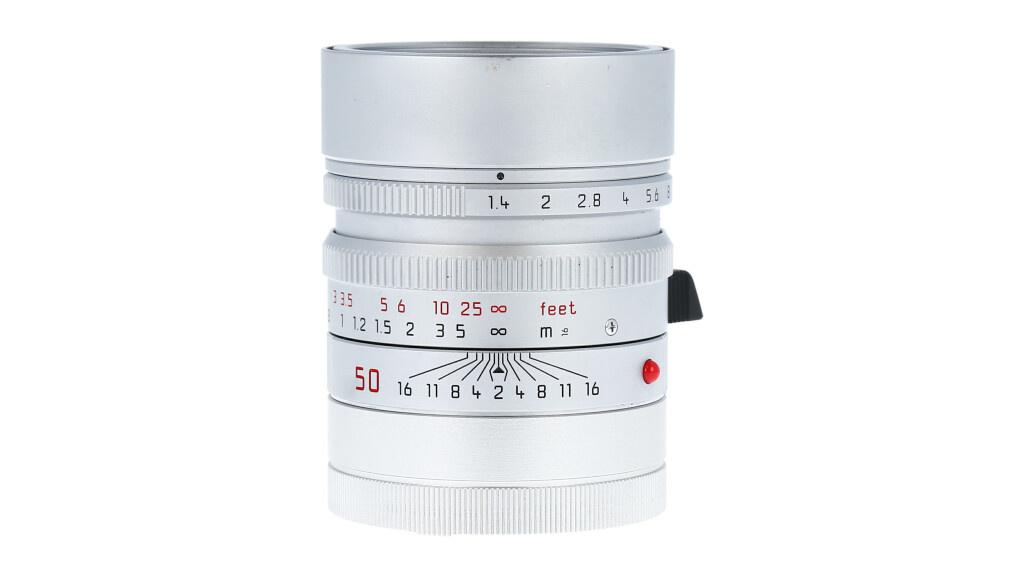 Leica SUMMILUX-M 50mm f/1.4 ASPH., Silver, Used