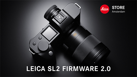 Leica SL2 firmware update 2.0 with 187 Megapixel MultiShot