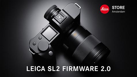 Leica SL2 firmware update 2.0 with 187 Megapixel MultiShot