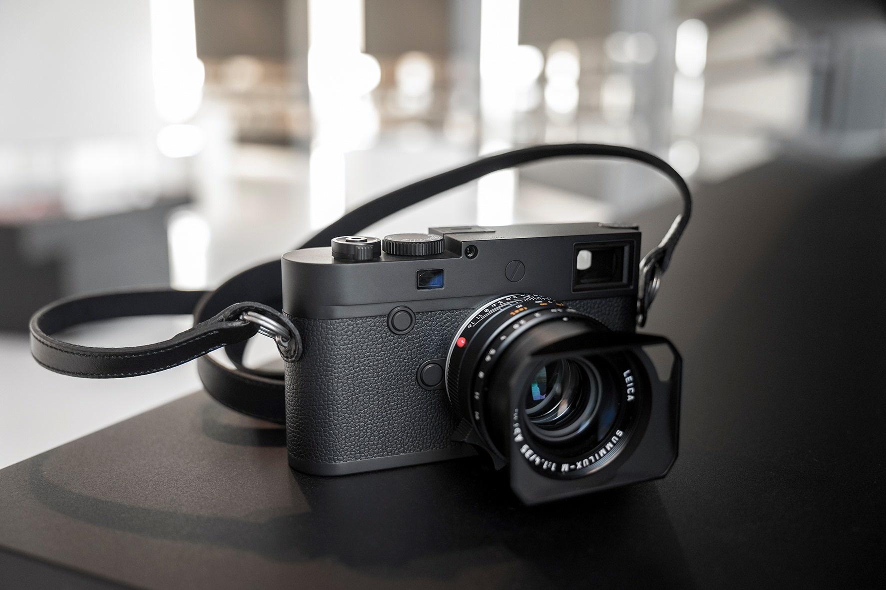 The Leica M10 Monochrom Camera