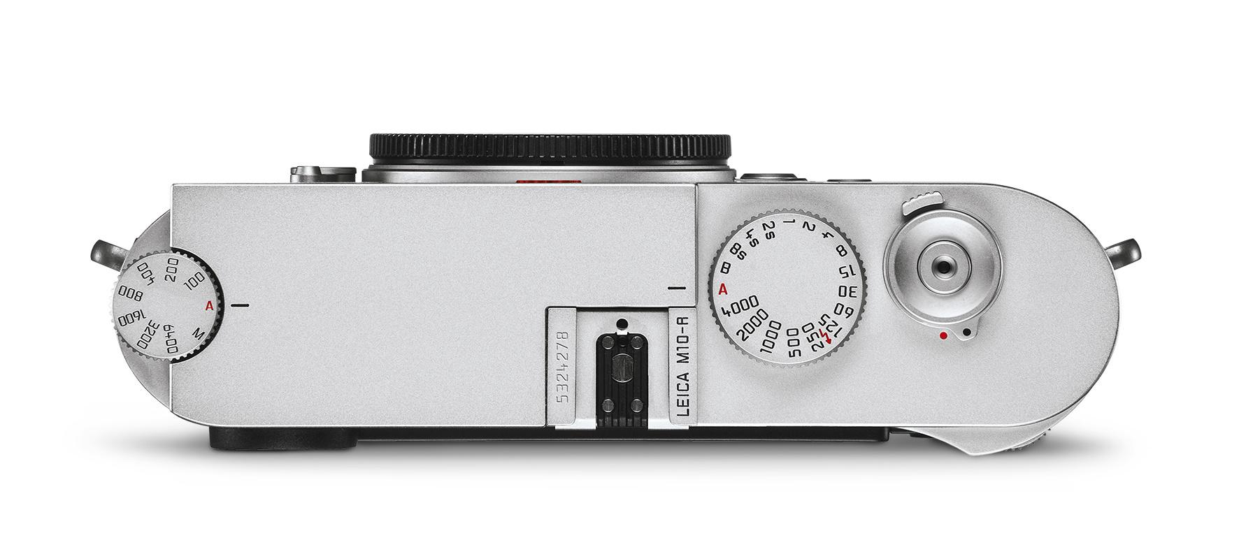 Leica M10-R, Silver Chrome Finish
