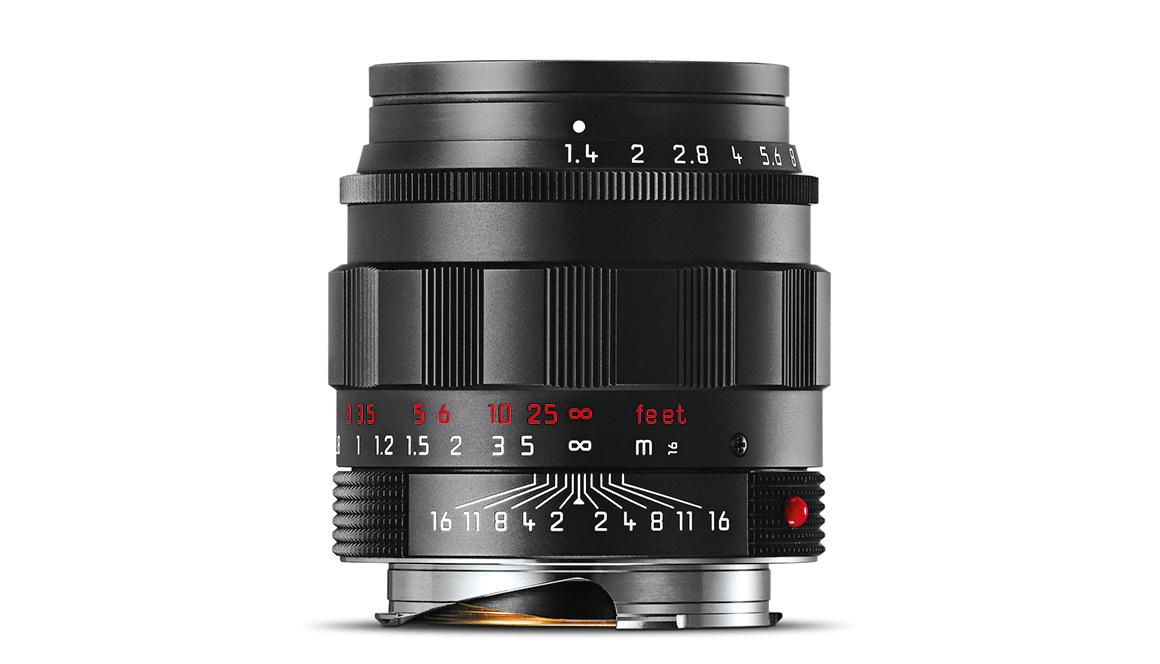 Leica SUMMILUX-M 50mm f/1.4 ASPH., black chrome
