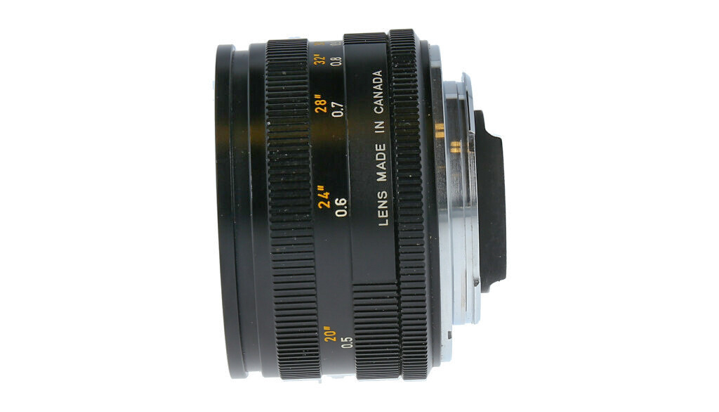 Leica Summicron-R 50mm F/2, Used