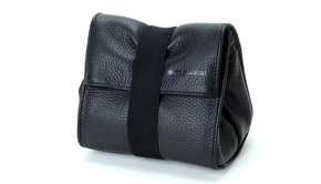 Artisan & Artist ARTISAN&ARTIST - ACAM 77 soft leather pouch - black