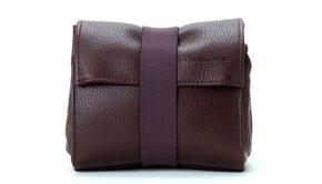 Artisan & Artist Artisan & Artist ACAM 77 leather soft pouch - brown