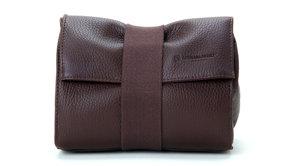 Artisan & Artist ARTISAN&ARTIST - ACAM 78 soft leather pouch - brown