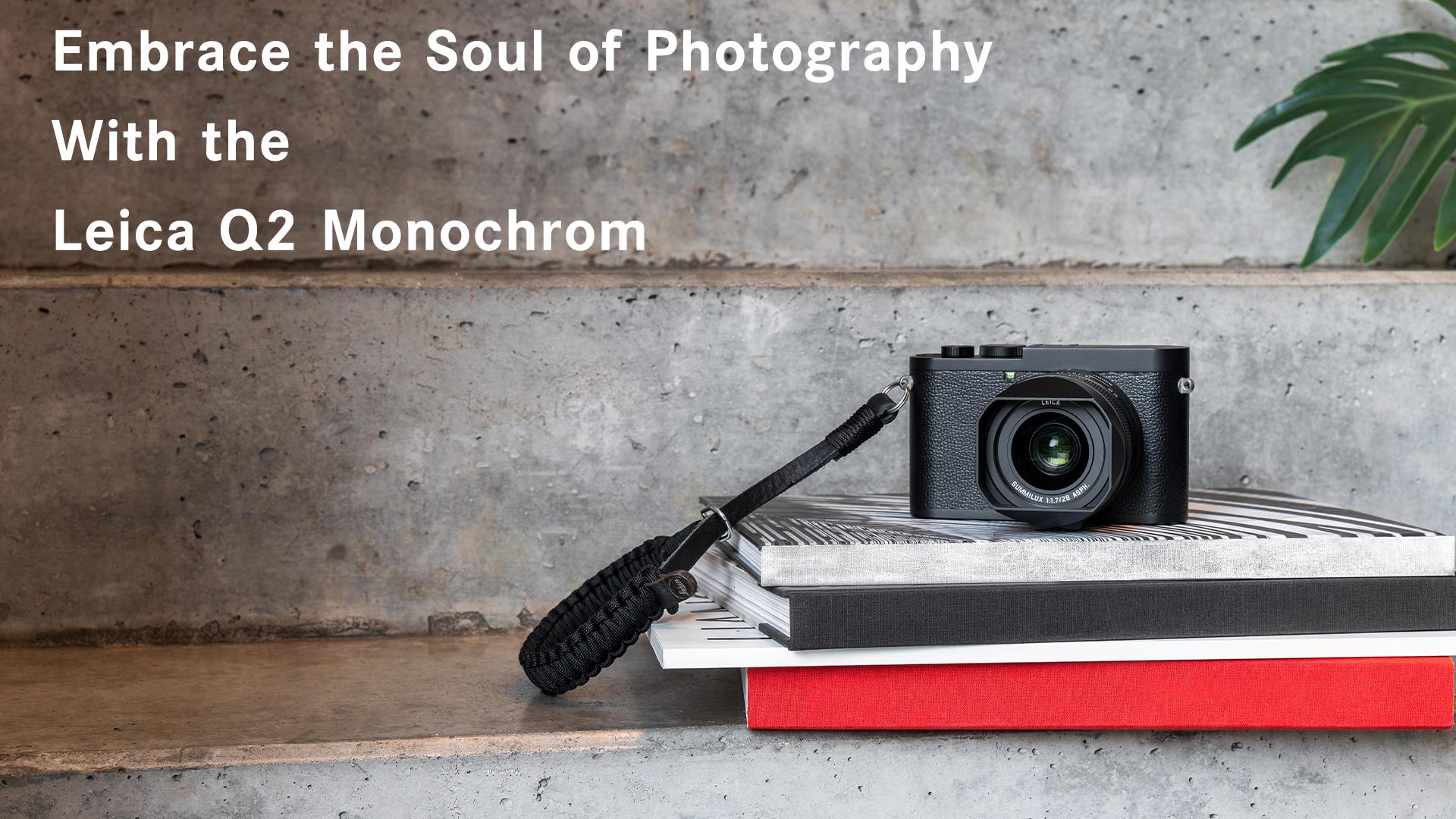 Leica Q2 Monochrom 47 mp black and white