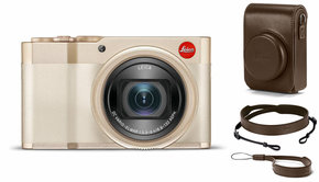 Leica Leica C-Lux Light Gold, Bundle