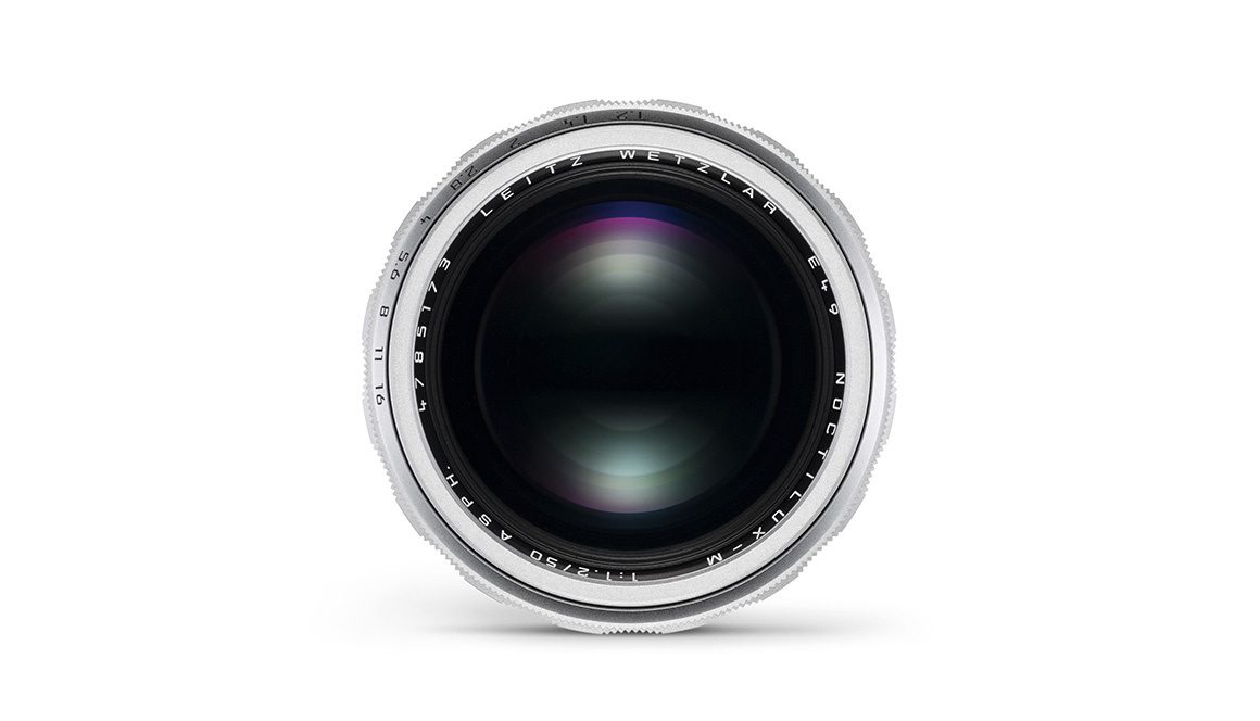 Leica Noctilux-M 50mm f/1.2 ASPH., silver