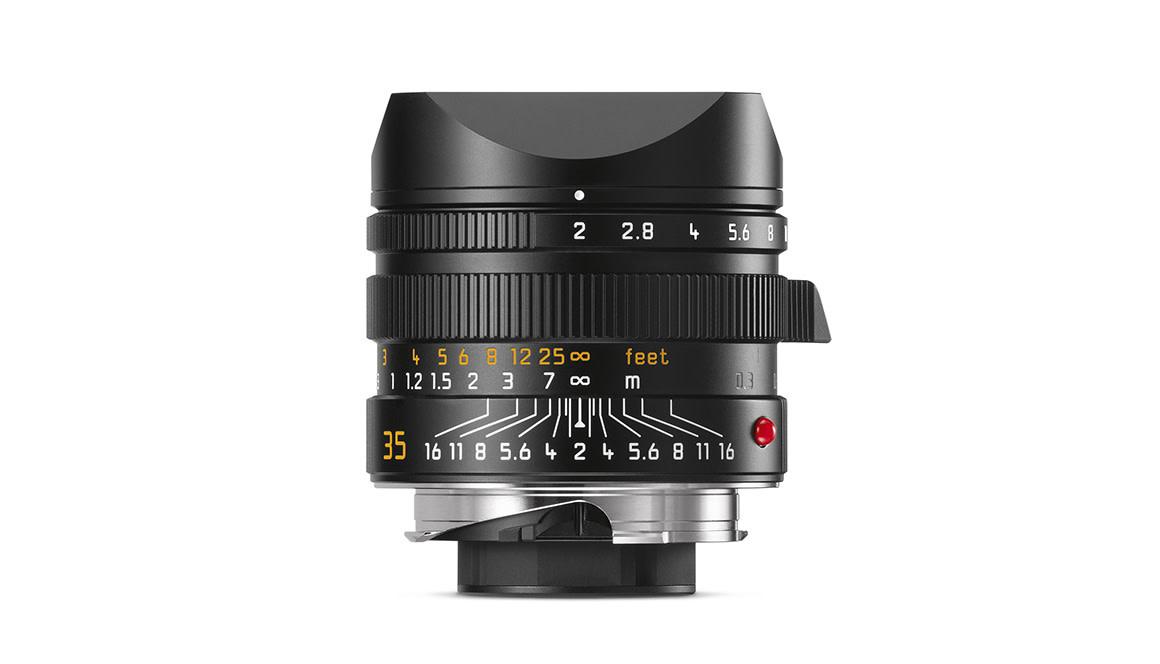 Leica APO-SUMMICRON-M 35mm f/2 ASPH., black anodized finish