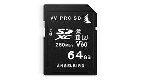 Angelbird Angelbird, AVpro SDXC UHS-II V60 64GB