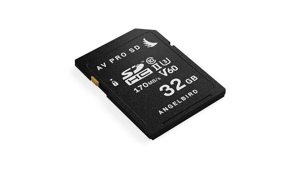 Angelbird, AVpro SDHC UHS-II V60 32GB