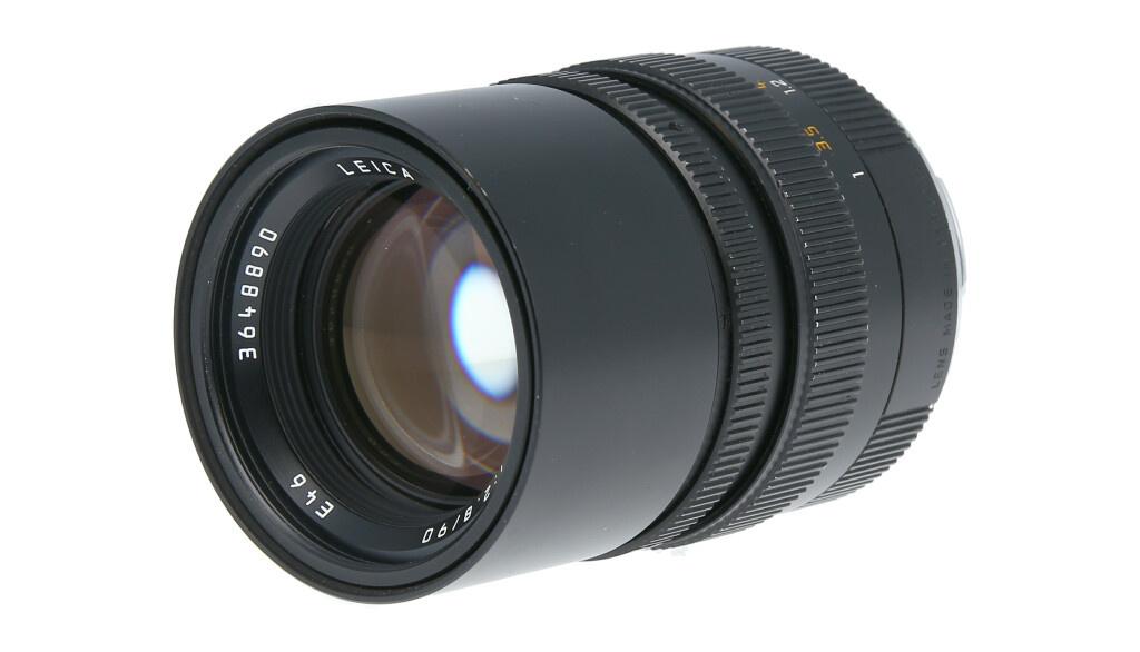Leica ELMARIT-M 90mm F2.8, Used