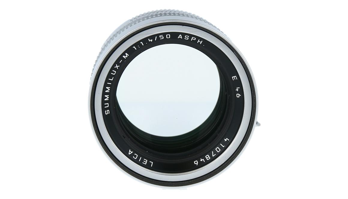 Leica SUMMILUX-M 50mm f/1.4 ASPH., Silver Chrome Finish, Used
