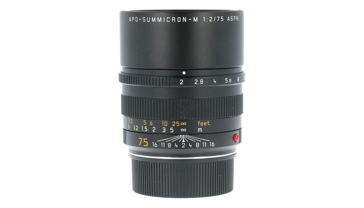 Leica APO-SUMMICRON-M 75mm f/2, Used
