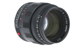 Leica Leica SUMMILUX-M 50mm f/1.4, Black Chrome, Used