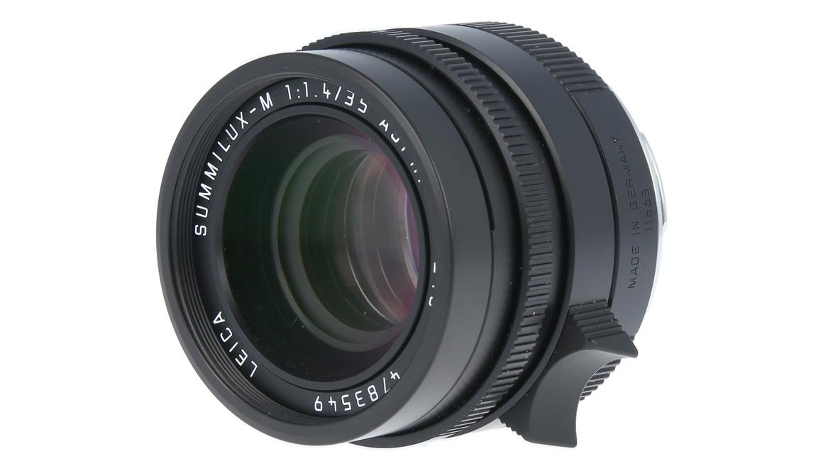 Leica SUMMILUX-M 35 mm f/1.4 ASPH., black anodized finish, Used