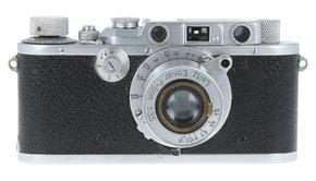 Leica Leica IIIa + Leitz Elmar F3.5, Used