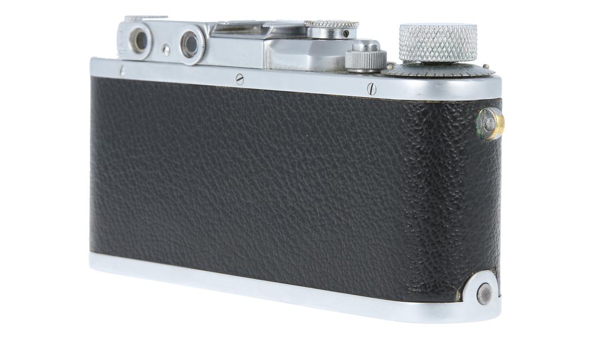 Leica IIIa + Leitz Elmar F3.5, Used