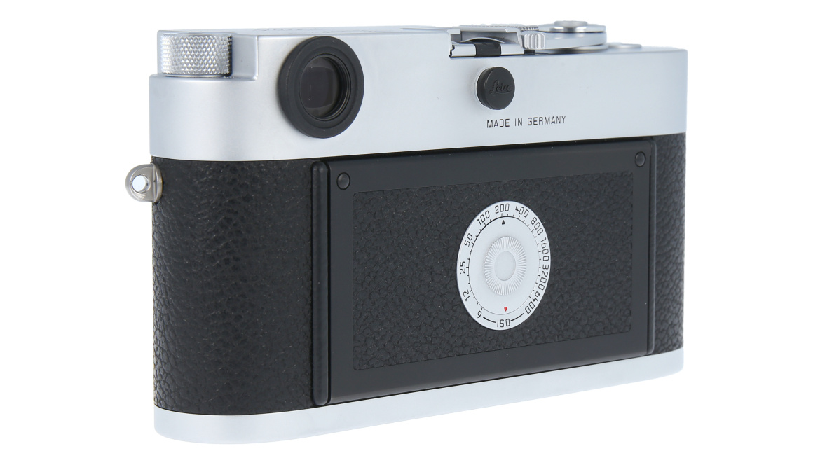 Leica M-A (Typ 127), silver chrome finish, Used