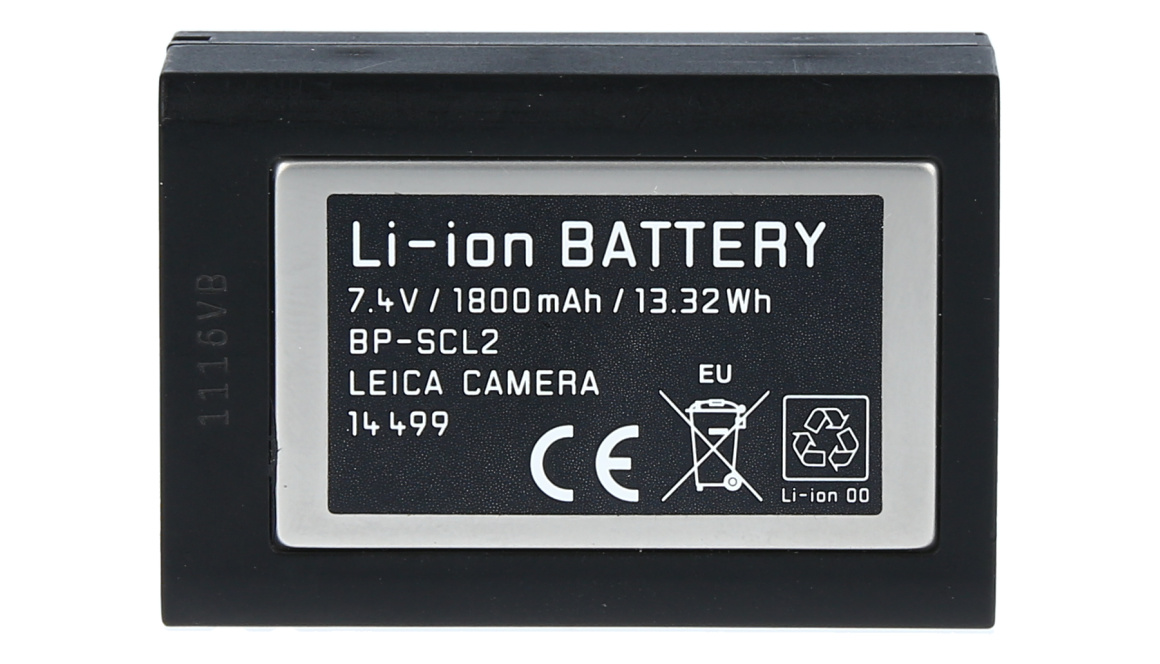Leica BP-SCL2 Battery for M (Typ 240 / 246 / 262), Used
