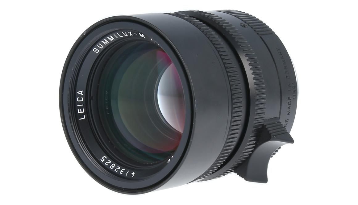 Leica SUMMILUX-M 50mm F1.4 ASPH., Black, Used