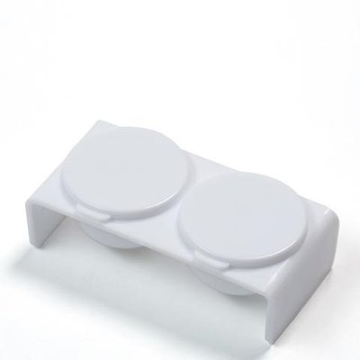 Doppel-Dapsschale mit Deckel