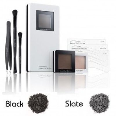 Fab Brows Beautiful Brows Duo Kit Leisteen/Zwart