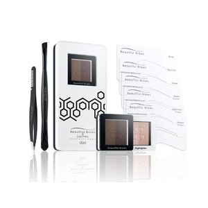 Fab Brows Beautiful Brows Duo Kit Dunkelbraun/Schokolade