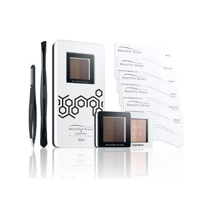 Fab Brows Beautiful Brows Duo Kit Donkerbruin/Chocolade
