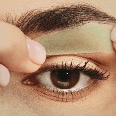 Andmetics Eye Brow Wax Strips Vrouwen