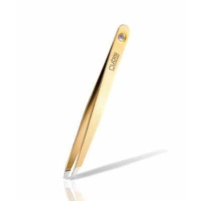 Rubis Swarovski Gold Diamond Tweezers oblique