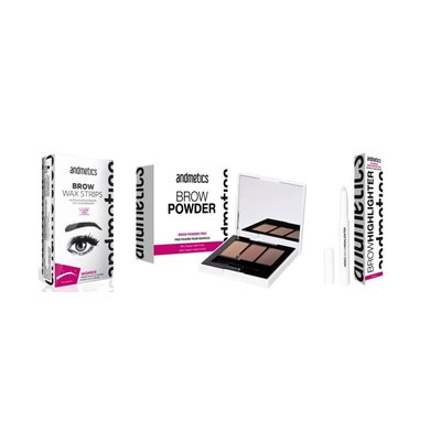 Andmetics Perfect Brows Set