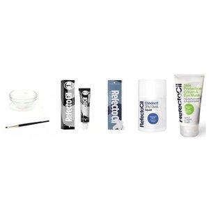 Refectocil Augenbrauen- & Wimpernfarbe Starter-Kit (30 Anwendungen)