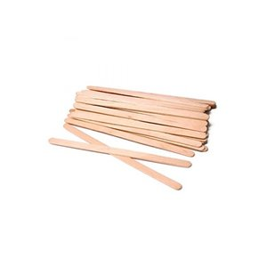 ItalWax Wachsspatel aus Holz, extra schmal