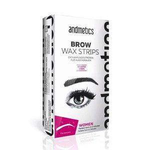 Andmetics Eye Brow Wax Strips Frauen
