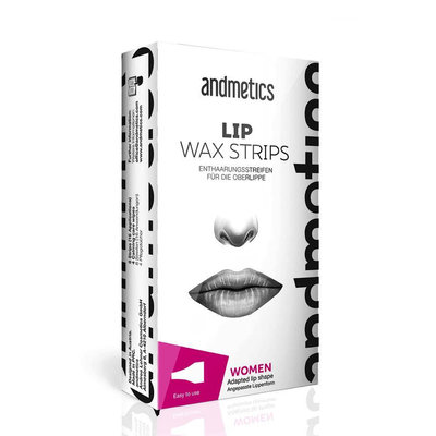 Andmetics Lip Wax Strips Vrouwen